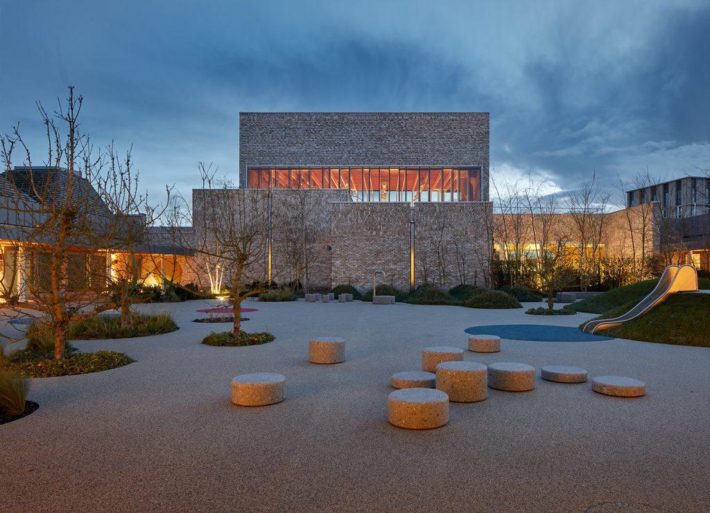 Evening External Photo of Storey's Field Centre