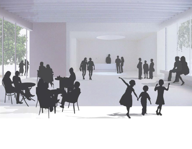 Artists impression of the foyer