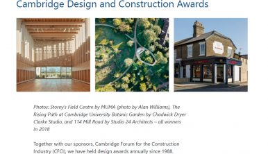 Cambridge Design and Construction Awards