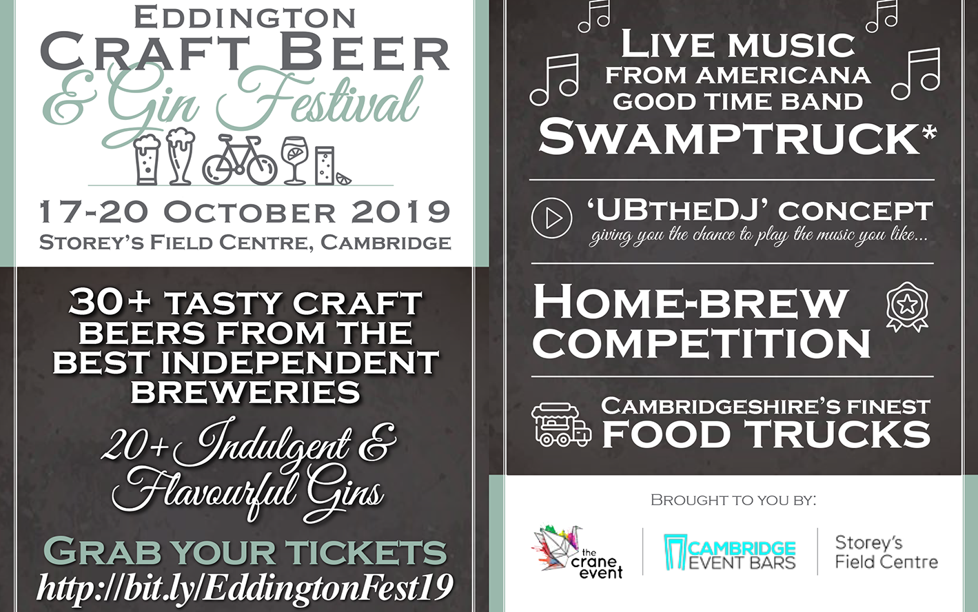 Eddington Craft Beer & Gin Festival