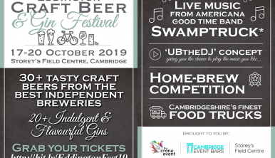 Eddington Craft Beer & Gin Festival