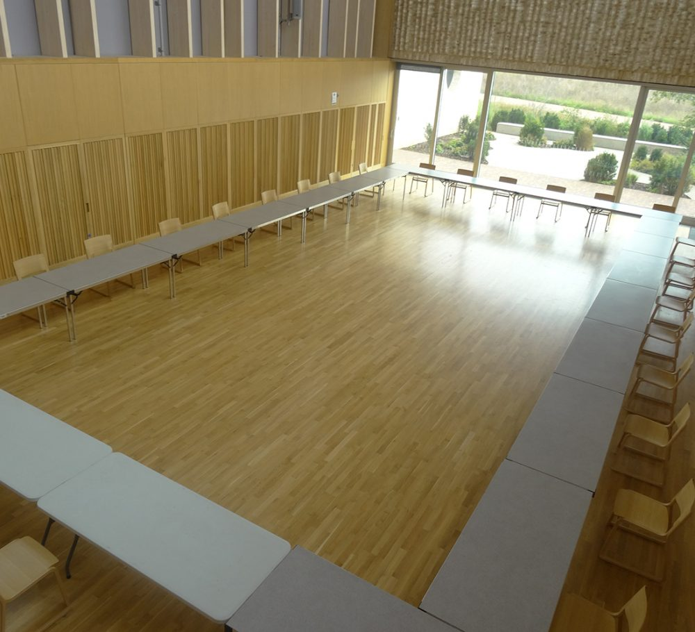 Boardroom 'O' Layout